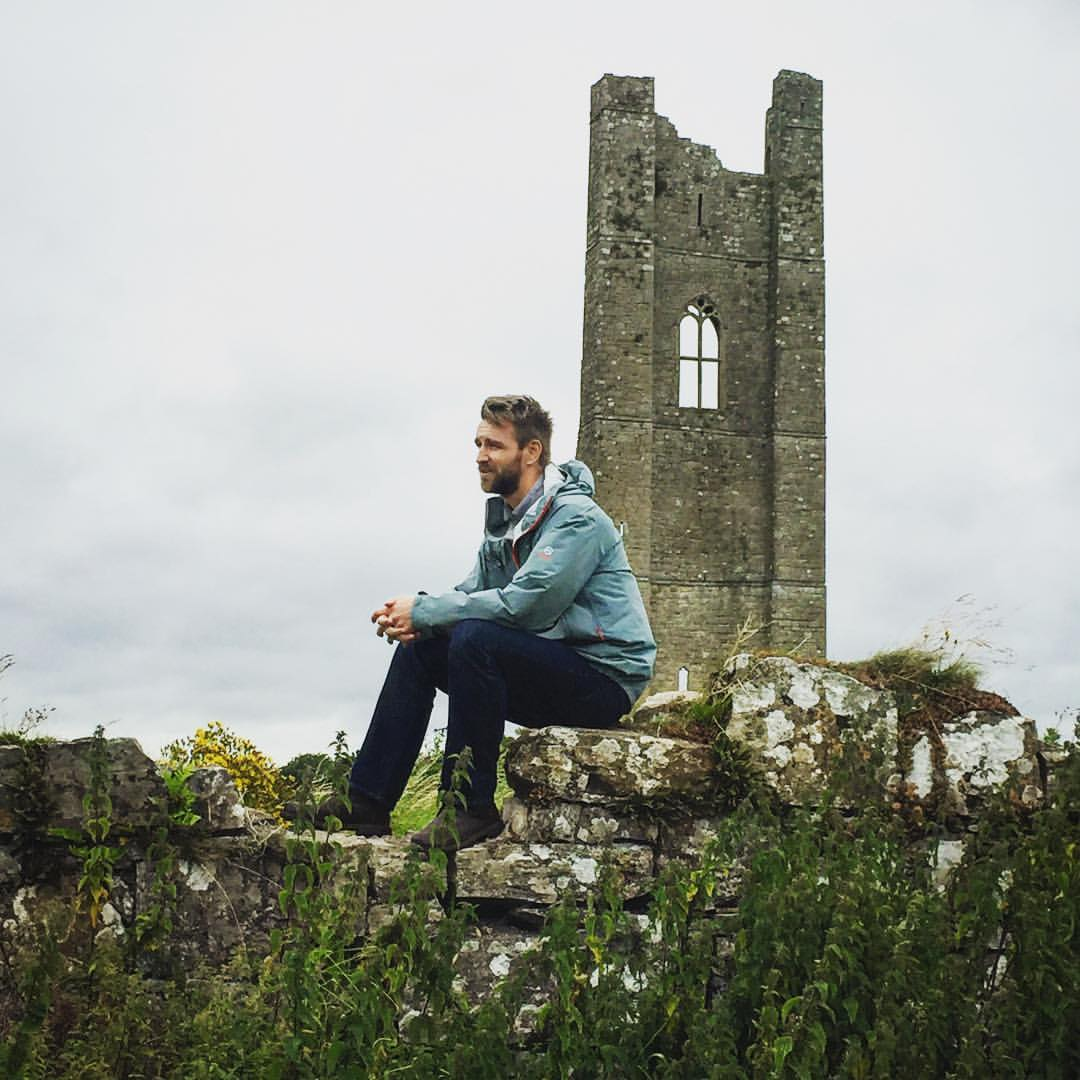 Photo of Josh Milthorpe at St Mary's Abbey, Trim, Co. Meath, Ireland